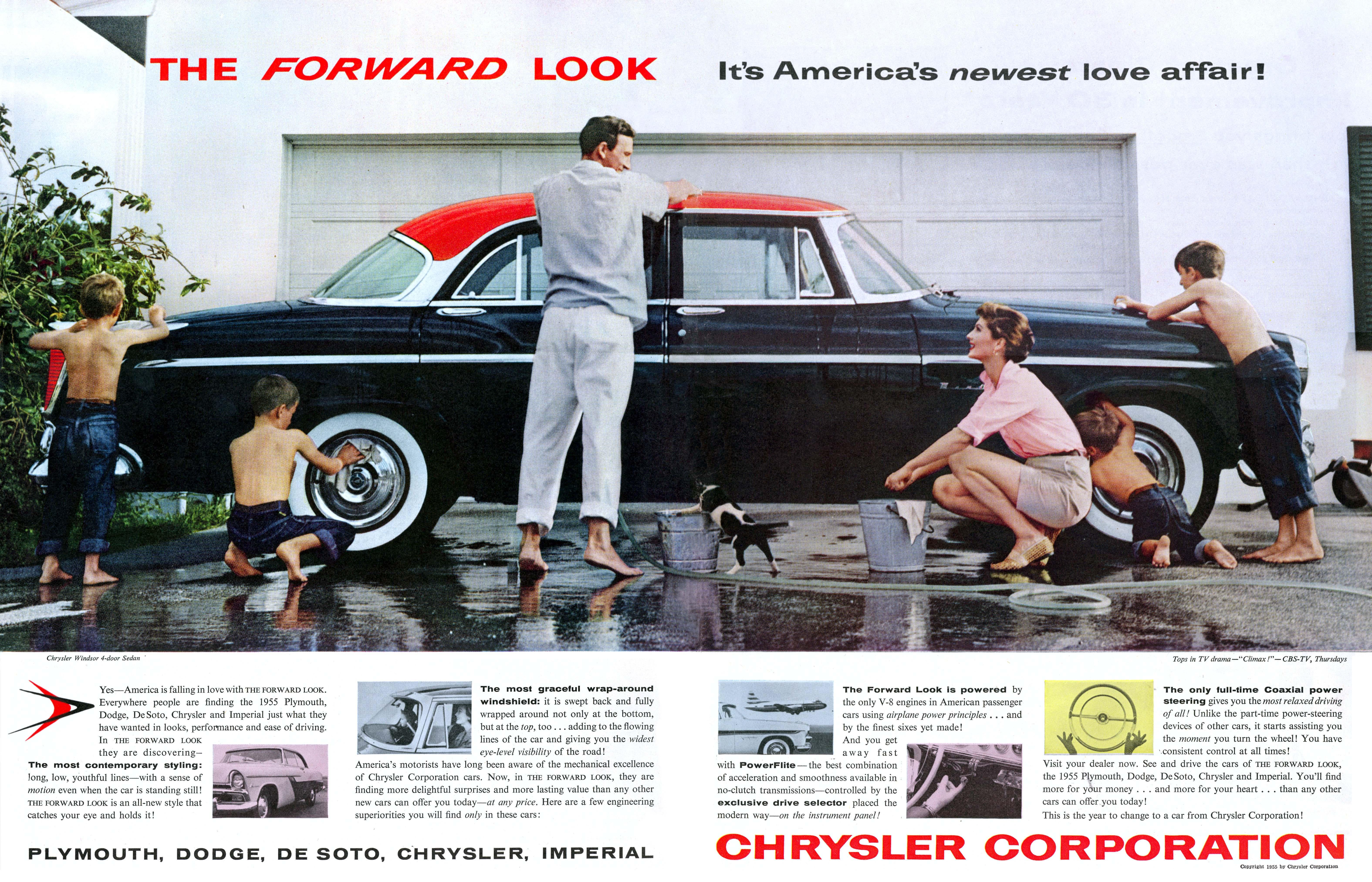 1955 Chrysler Windsor 4-door Sedan