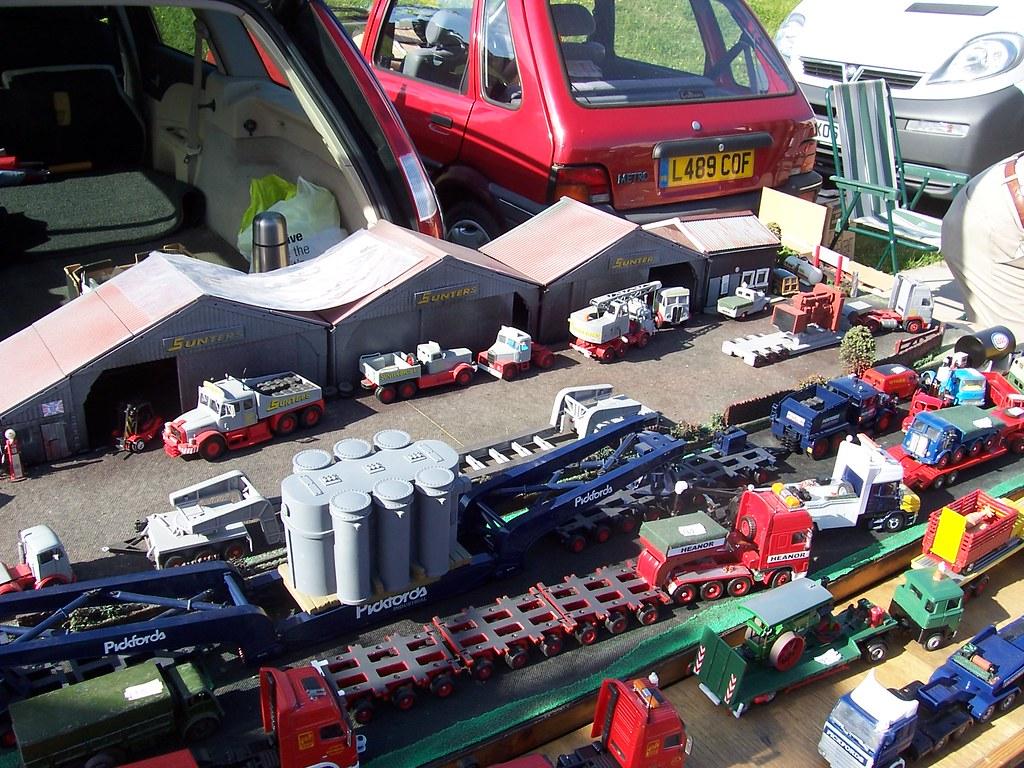 Model Trucks , Gaydon , Heavy Haulage , Sunters , Pickford ...