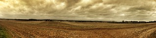 Tracks in a fertile soil panoramic | by Broo_am (Andy B)
