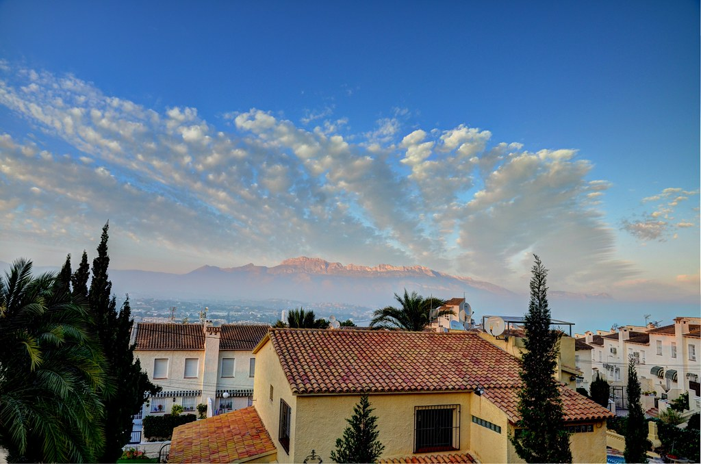 Albir Spain  city pictures gallery : Albir Spain. Nikon D7000 7 16 85VR HDR | The view from our ...