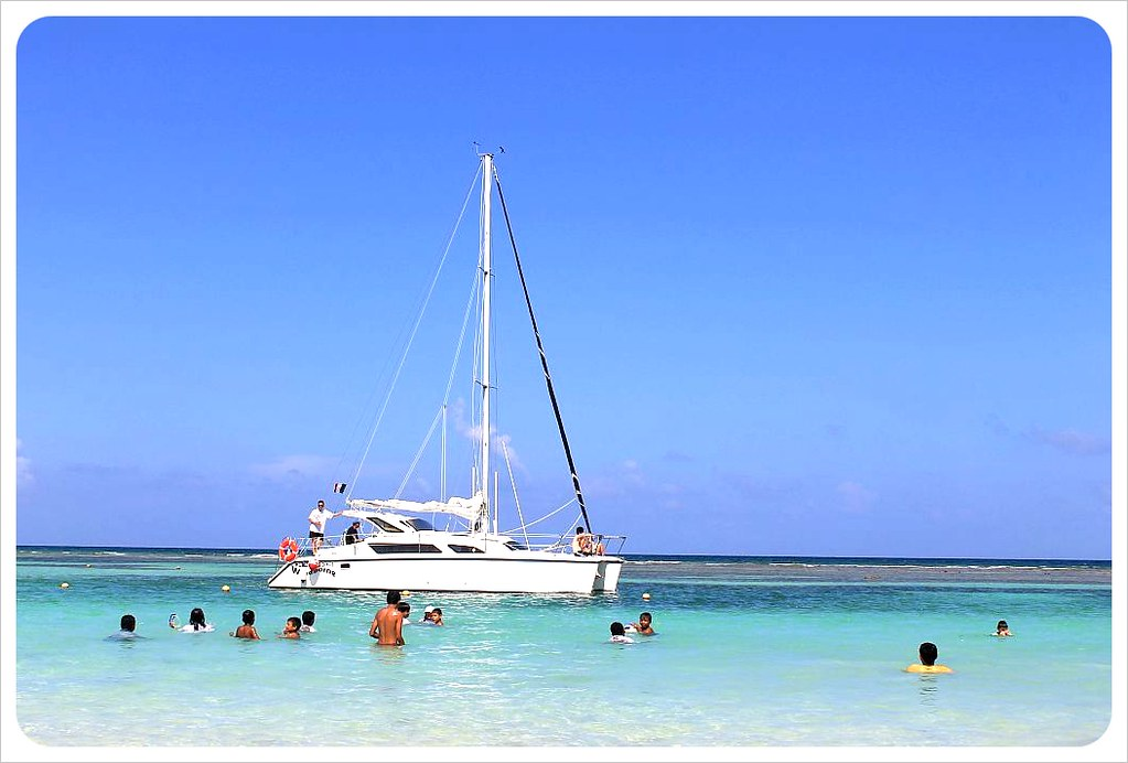 mahahual caribbean with catamaran mahahual