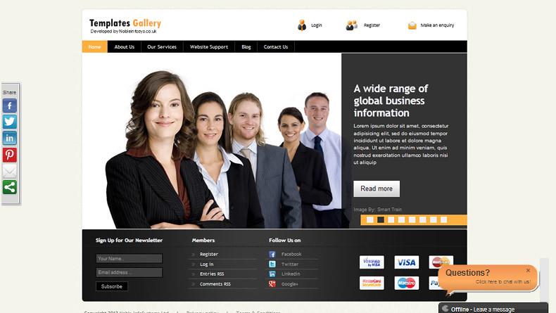 Yahoo Store Website Design