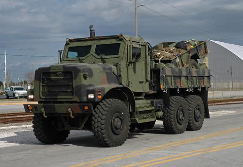 Marine Corps Amk23 Cargo Truck This Amk23 Armored 7 Ton