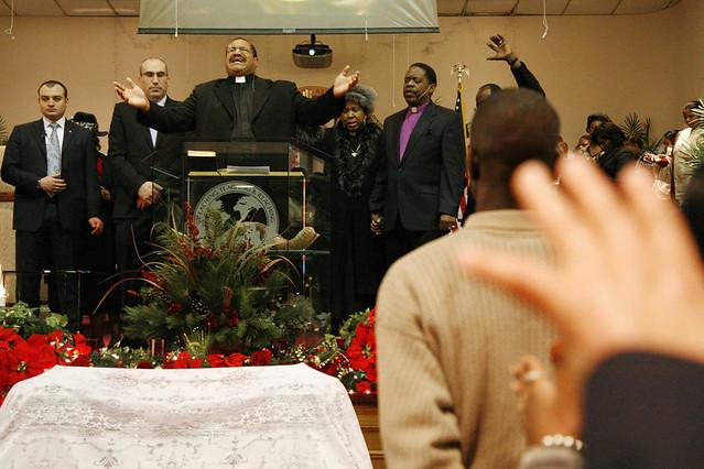 Misa Gospel en el barrio de Harlem