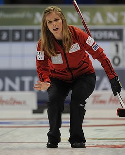 World Financial Group Curling 2013.Team North America skip Jennifer Jones.CCA/michael burns photo | by seasonofchampions