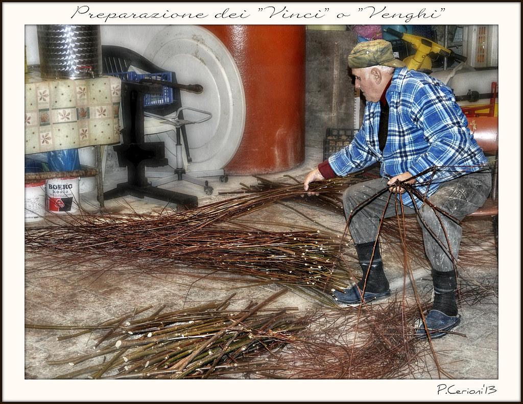 Preparazione dei rami di salice per la legatura delle viti for Rami di salice