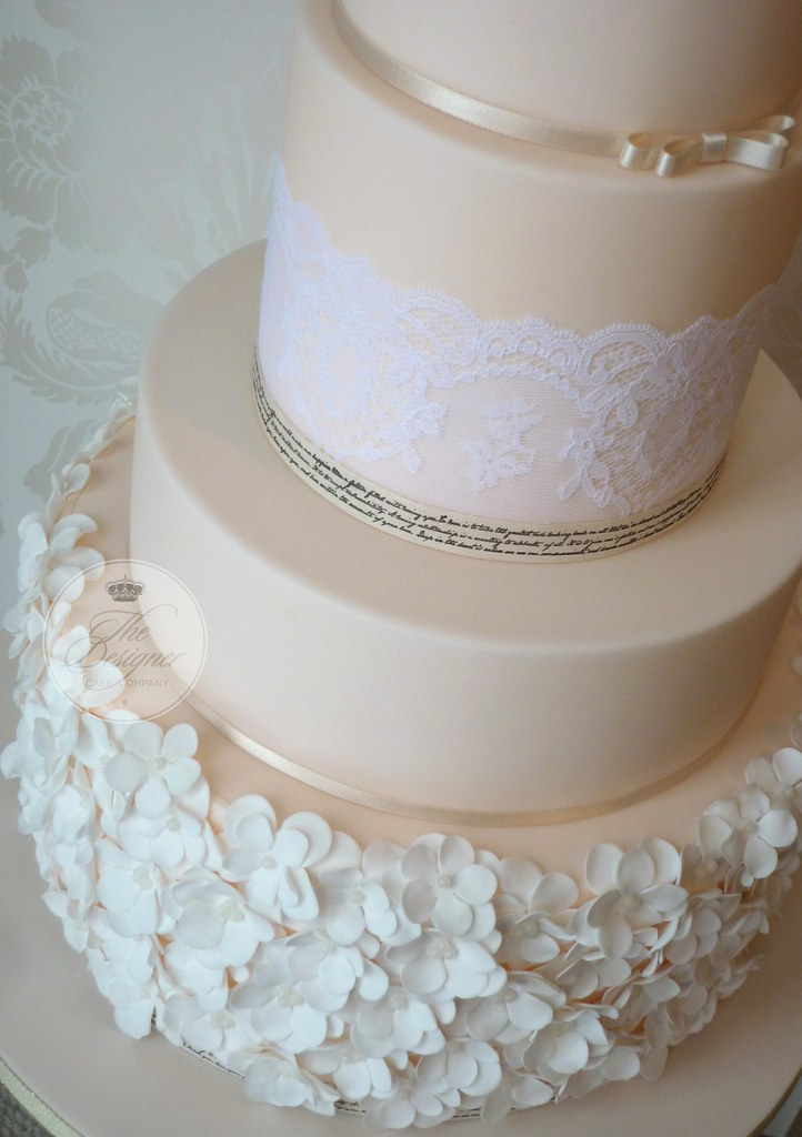 peach wedding cake gallery ruffle wedding cake isabelle bambridge flickr 18146