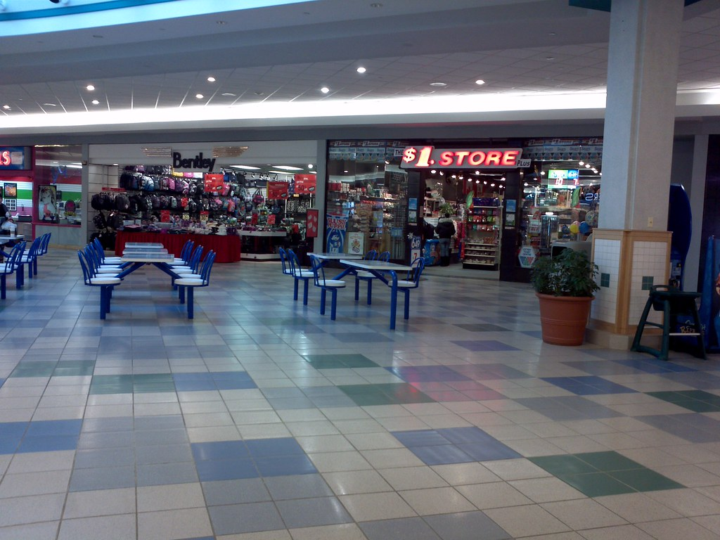 New quot food court at the confederation mall