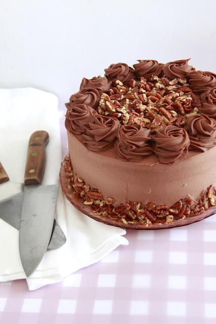 Texas Pecan Cake