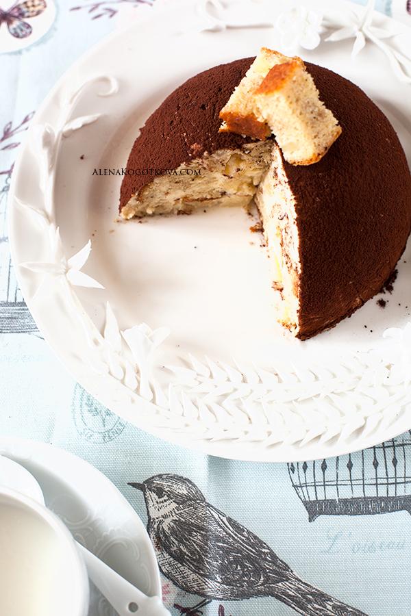 Сметанный мусс для торта