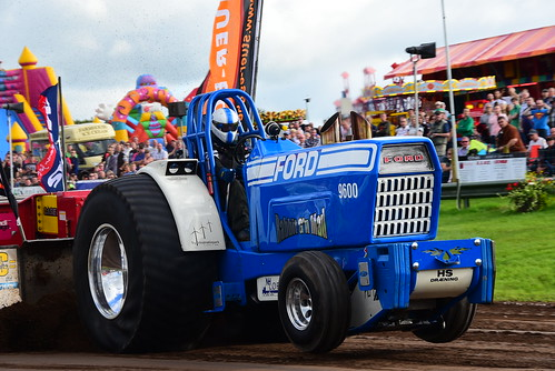 Henrik Svenningen, Rabbit G'n Mad, European Tractor Pulling Championship, Great Eccleston 2016