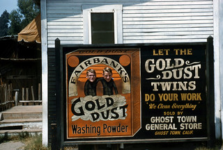 Dad & Uncle Art, Gold Dust Twins, 1960 | by Roadsidepictures