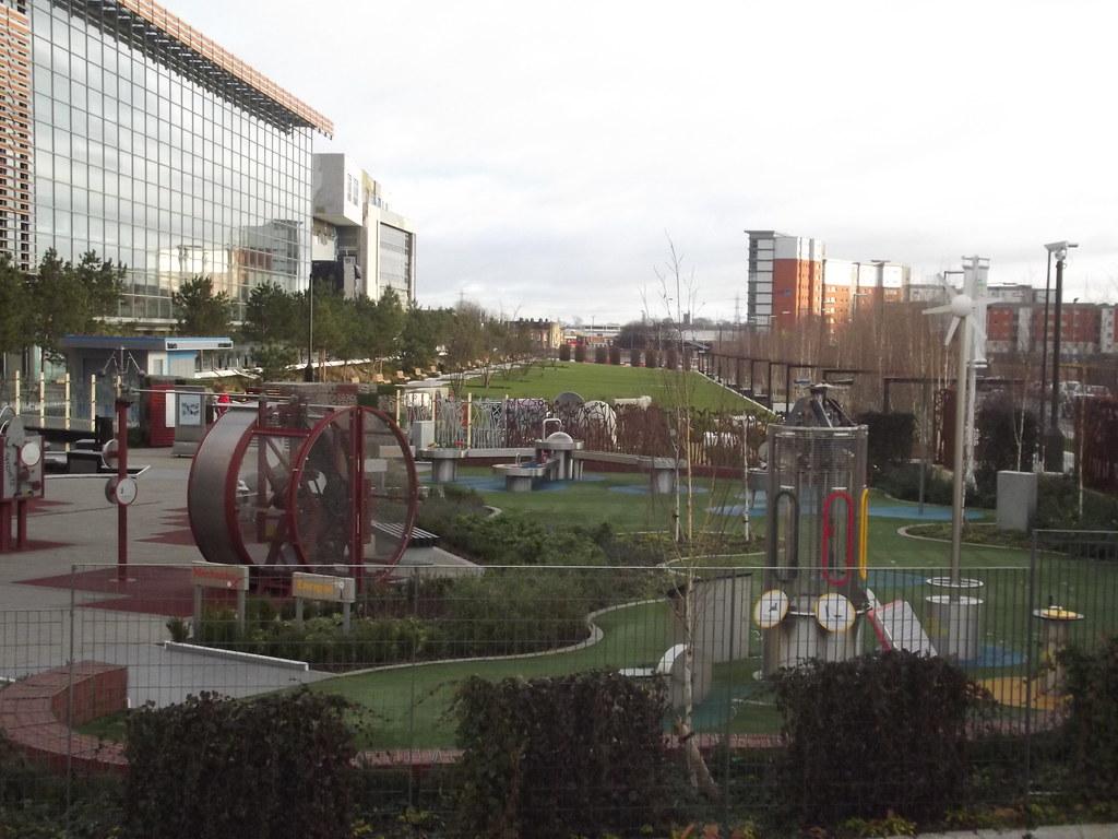 Eastside City Park Millennium Point Think Tank Science