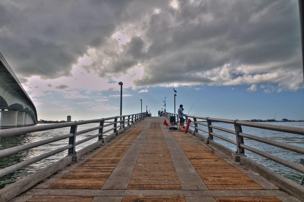 Tony saprito fishing pier sarasota florida nd32913 for Sarasota fishing pier