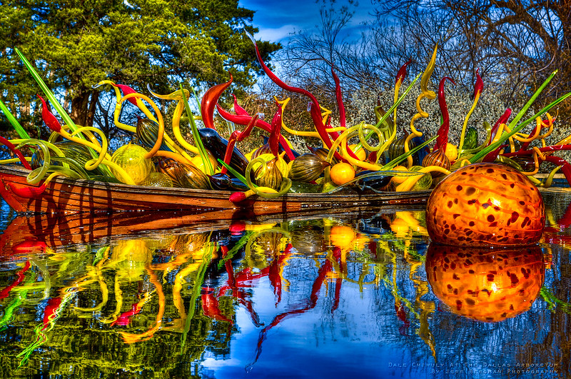 Chihuly at the Dallas Arboreturm