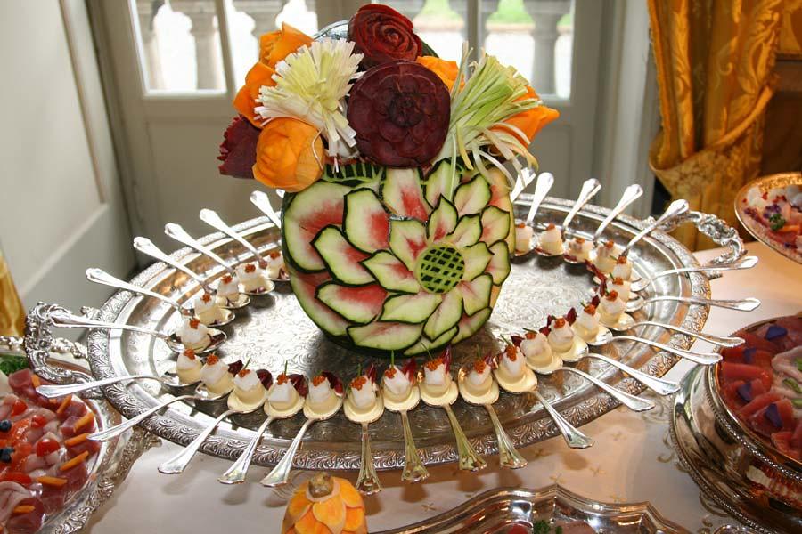 Decorazioni Buffet Frutta : Menu privati decorazioni di frutta svizzera ricevimenti flickr