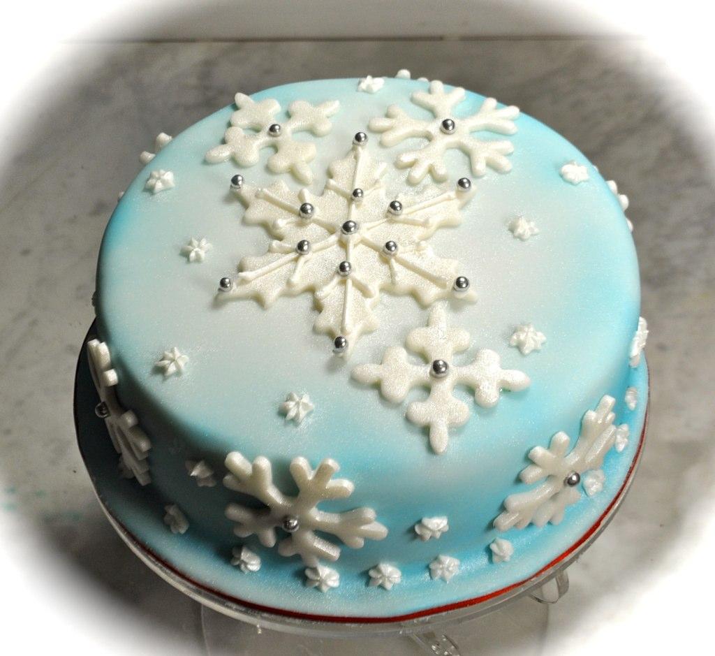 Fruit Covered Cake