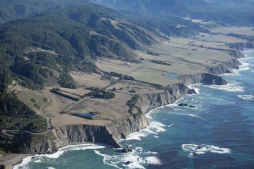 Uplifted marine terraces mendocino county california for 16 marine terrace