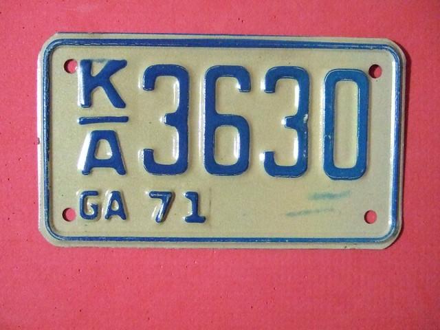Georgia Car Tag Cost