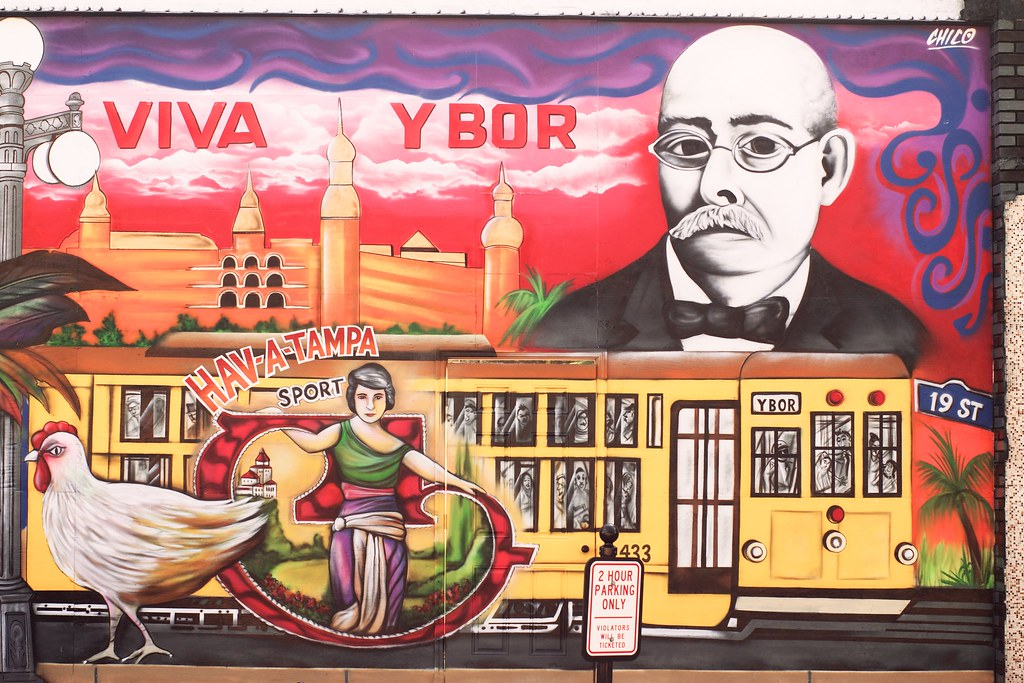 Viva ybor mural viva ybor mural hoffman porges in the for City of tampa mural
