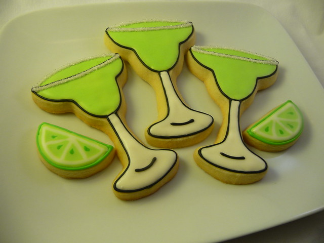 Happy Birthday Margarita Cookies | Flickr - Photo Sharing!