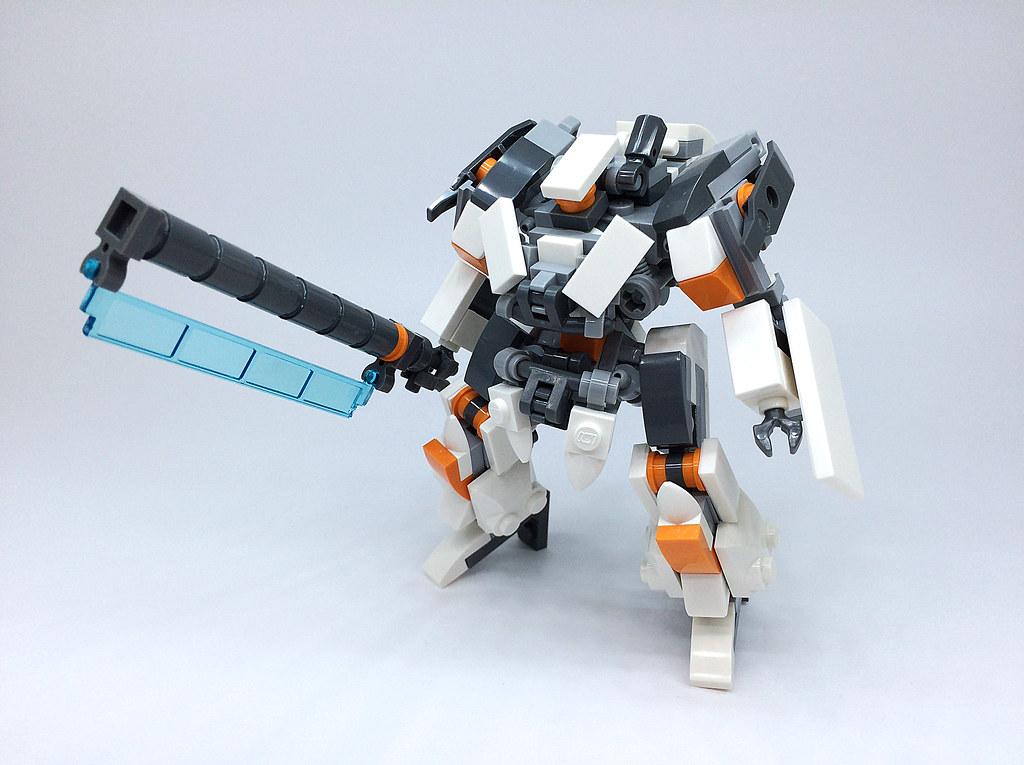 how to build lego mecha