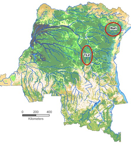 Location Ituri & TL2