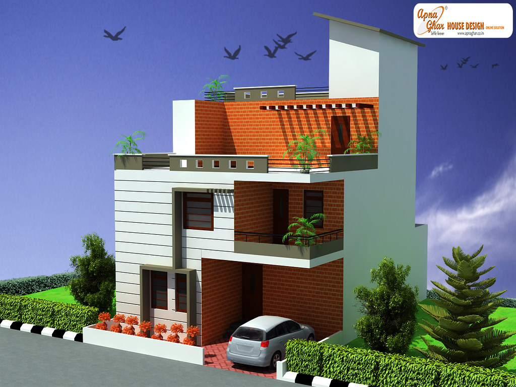 Triplex house design this is a beautiful three bedrooms for What is a triplex house