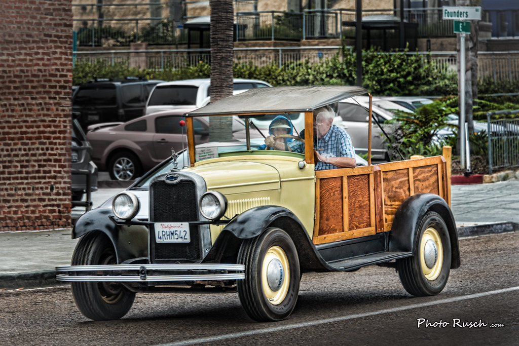 1928 Chevrolet Woody Station Wagon Convertible