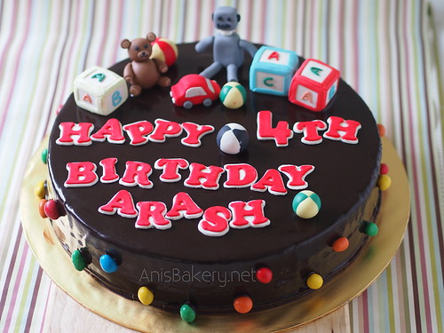 Cake Images With Name Hari : Birthday Cake with Robot anisbakery.net Flickr