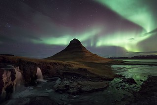 Kirkjufell and Falls Aurora | by Philip Eaglesfield