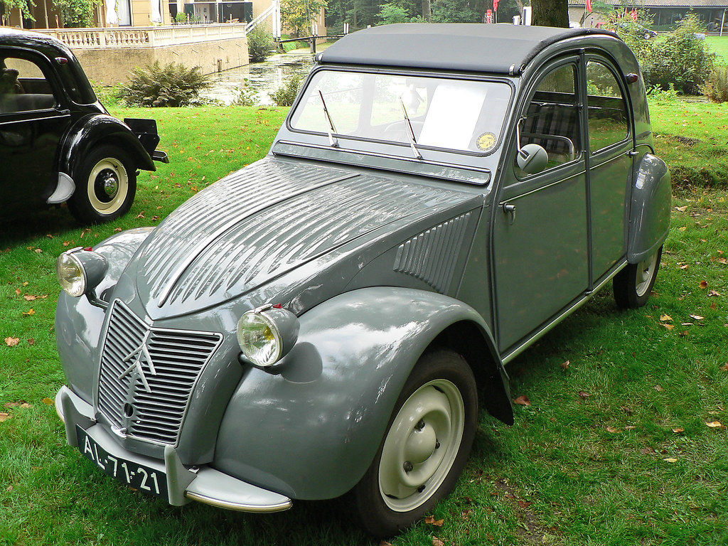 citroen 2cv weight
