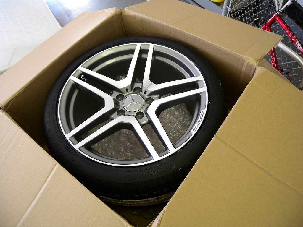 New 18 Amg Wheels Z Rated Continental Tires Mtneer Man Flickr