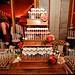 Glittery Wedding Cake Pop Display