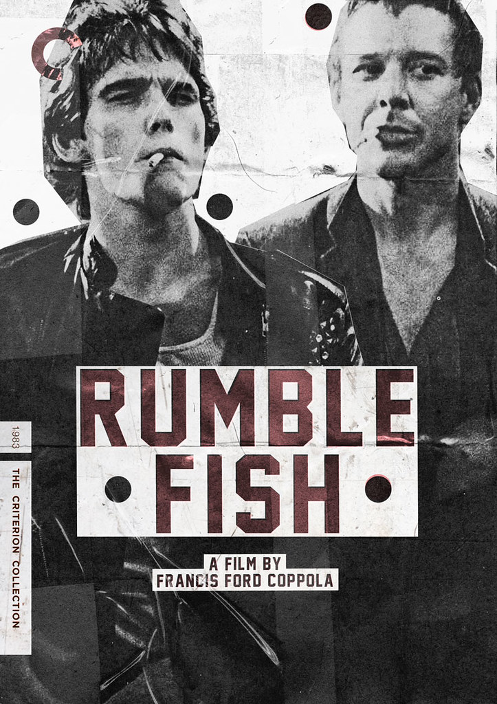 Criterion cover rumble fish criterion cover rumble fish for Rumble fish novel