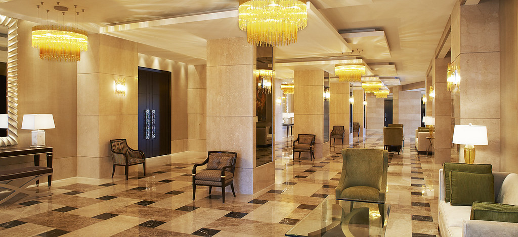 Grand Ballroom Foyer : The st regis doha—grand ballroom foyer grand