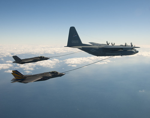 F-35C Refueling with KC-130 | by Lockheed Martin