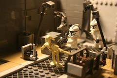 Geonosis: Droid Factory by Brick Zero