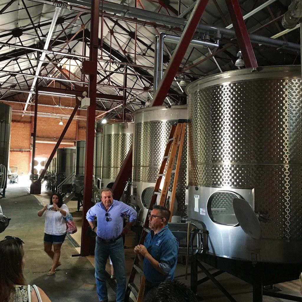 Old Sugar Mill Wine Fermenting Vats
