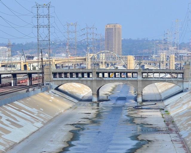 Los Angeles River, donde se rodaron películas como Grease y se han inspirado en videojuegos como el GTA