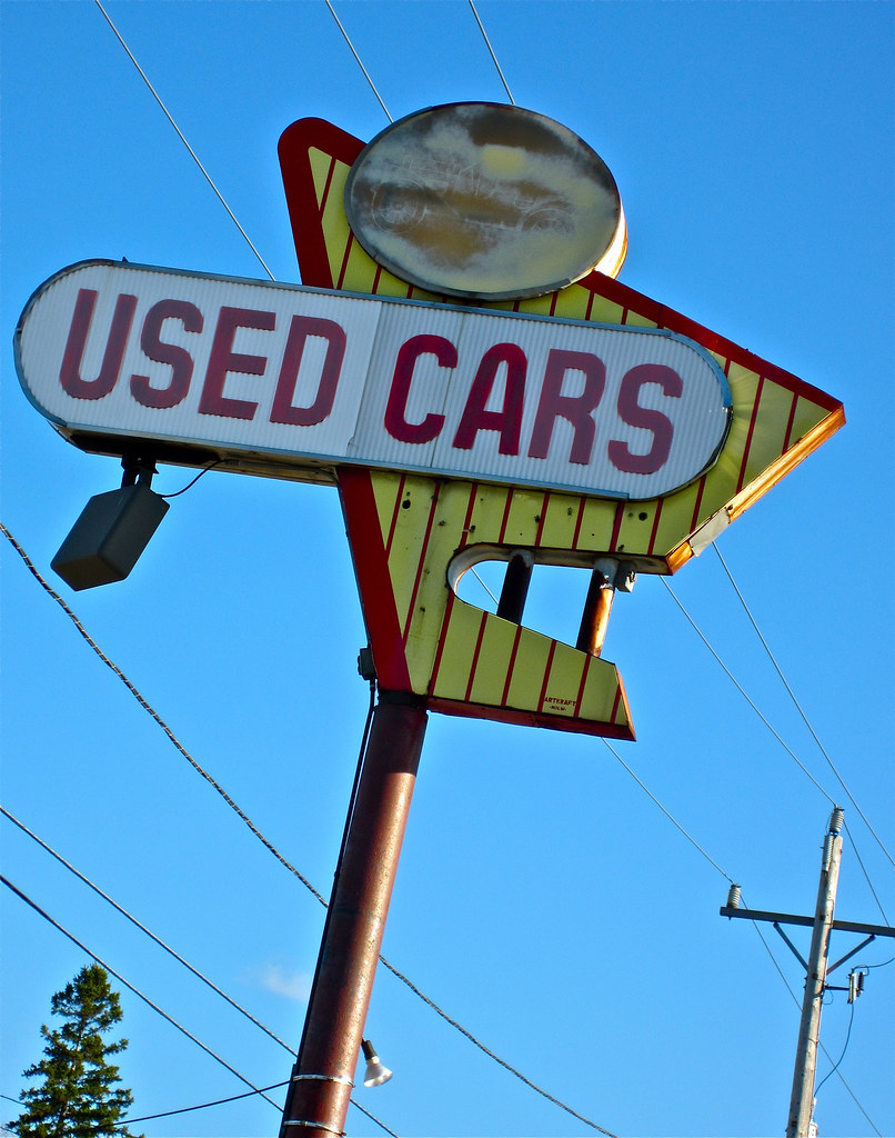 used cars south milwaukee wi a used car dealer sign with flickr. Black Bedroom Furniture Sets. Home Design Ideas