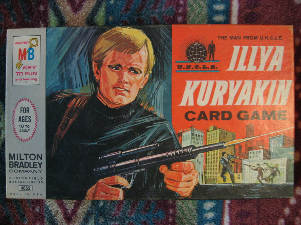 Ilya Kuryakin Game From The Man From Uncle Tv Show Flickr