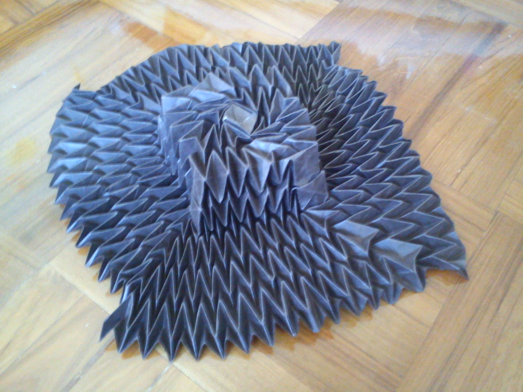 "Origami Flasher Hat by Jeremy Shafer | ""Here's a ... - photo#22"