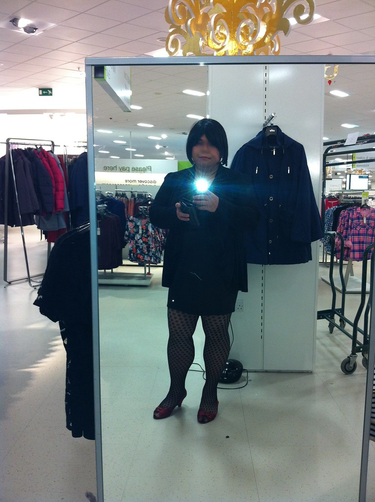 Caught Crossdressing In Public Part 2  I Arrived At The -6573
