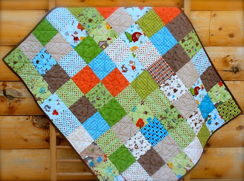 Fox Trails Baby Quilt | by CoraQuilts~Carla