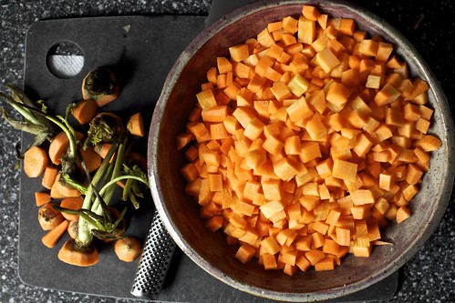 diced the carrots, but you can slice them | by smitten kitchen