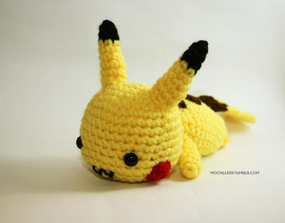Amigurumi Nintendo : Pikachu crochet amigurumi pikachu c pokemon nintendo flickr
