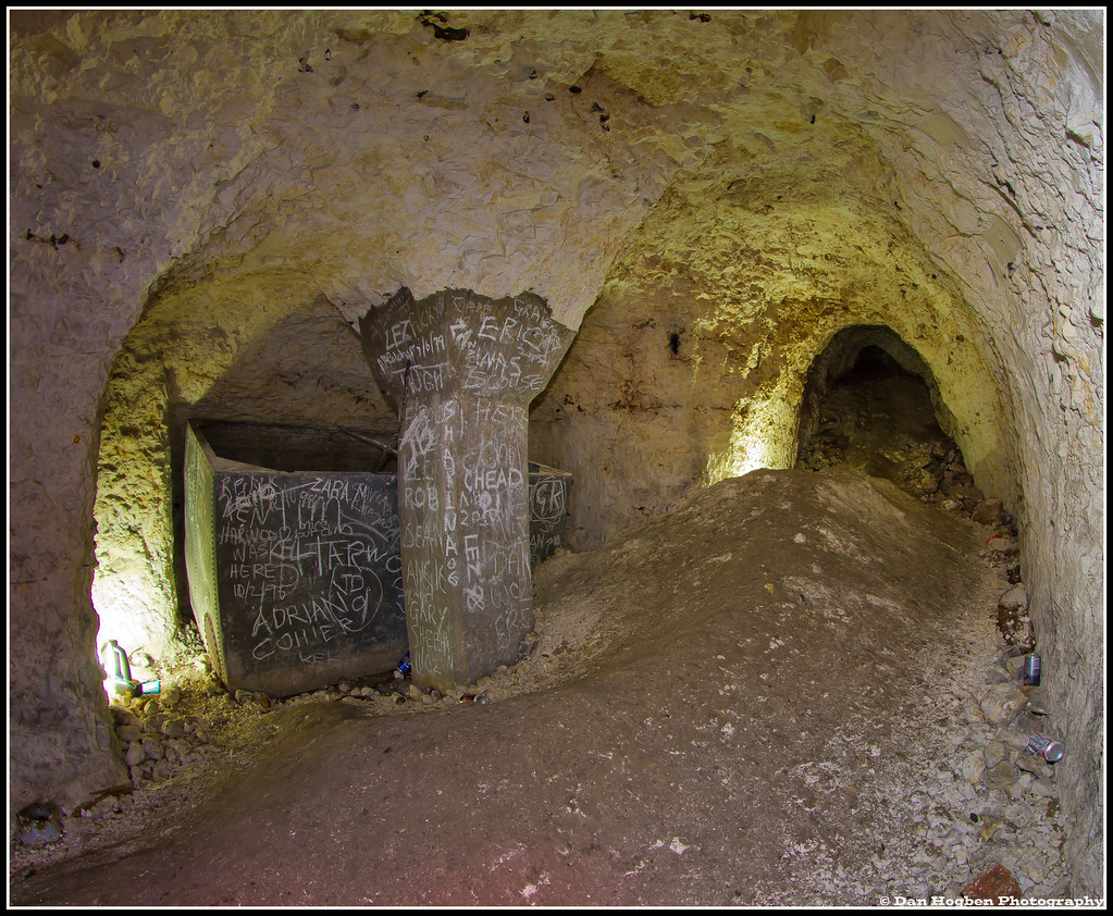 Bunker Tunnel System Map: Ramsgate Wind Tunnels,Air Raid Tunnels, By Dan Hogben (7