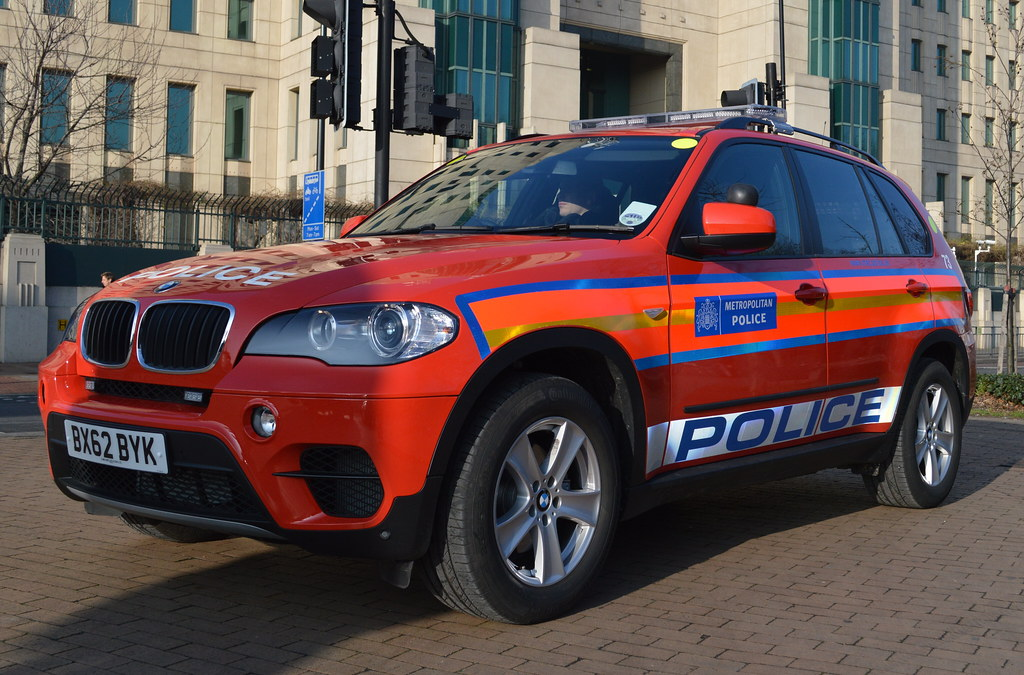 Metropolitan Police Bmw X5 Diplomatic Protection Group
