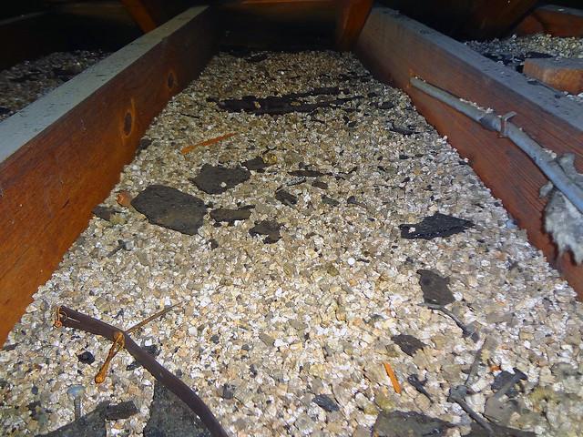 Vermiculite Attic Insulation Between Joists Flickr
